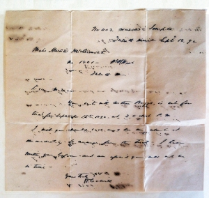 letter from 1892