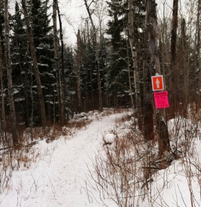 Trail signs Finland